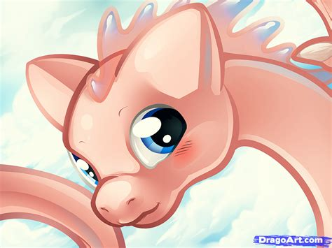 How To Draw A Mew Dragon, Mew From Pokemon, Step By Step