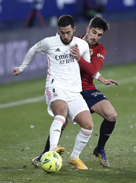 sport news Osasuna 0-0 Real Madrid: Zinedine Zidane's side ...