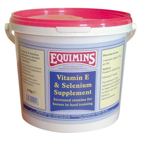 equimins vitamin  selenium supplement  horses