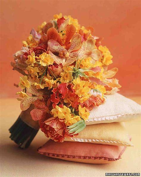 Orchid Wedding Bouquets Martha Stewart Weddings