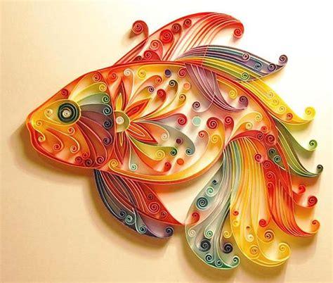 unique paper art craft ideas  quilling designs
