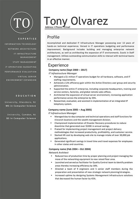 It Manager Resume Exles by Writing Skills For A Resume Exles 20 Skills For