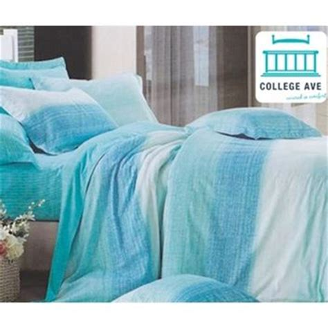 aqua sands dorm bedding for girls twin xl from dormco