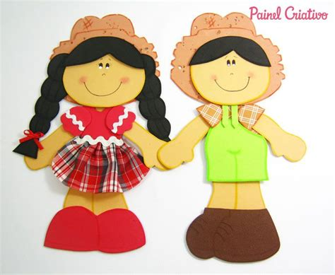 caipira menino e menina moldes festa junina molde casal caipira decoracao painel festa junina 3 fazenda molde and