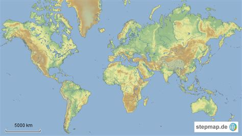weltkarte inkl gewaesser von onkelkevin landkarte fuer
