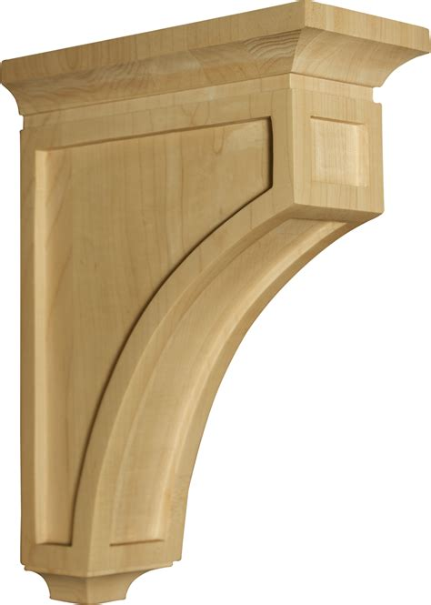 Wooden Corbel by Athens Mission Corbel