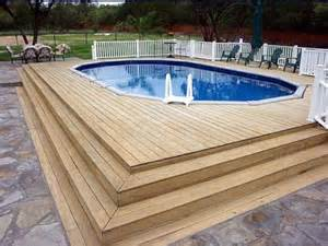 Above Ground Pool Deck Images How To Repair How To Build Decks For Above Ground Pools Above Ground Pool Ladders For Decks