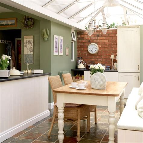 Decorating Ideas Kitchen Diner by Rustic Kitchen Diner 10 Ways To Use A Conservatory
