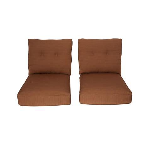 hton bay patio chair replacement cushions hton bay marywood replacement outdoor chair cushion 2