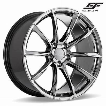 Ace Wheels Alloy Coupe Chrome Genesis Flow
