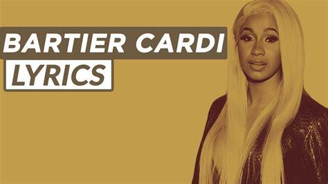 cardi b video with 21 savage cardi b bartier cardi ft 21 savage lyrics youtube