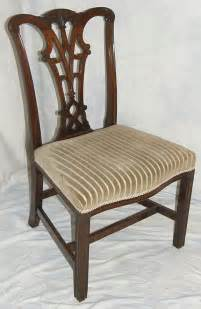 chippendale period mahogany chair for sale antiques