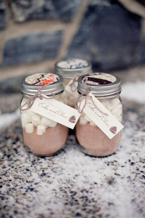 homemade hot cocoa favors