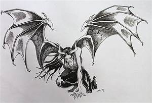 The Devil Himself Drawing by Jodi Harvey-Brown