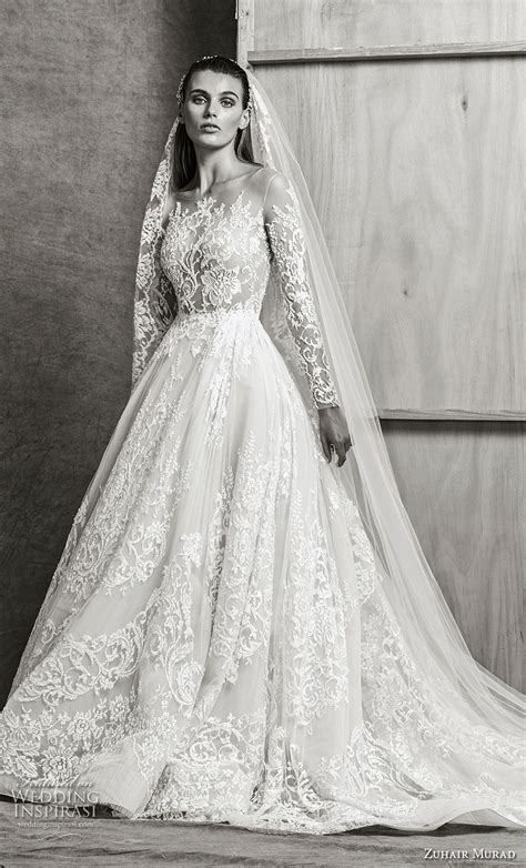 zuhair murad fall  wedding dresses wedding inspirasi