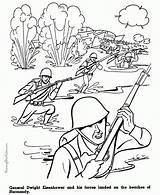 Coloring Army Pages Military American History Printable Sheets Soldier Drawing Boys Ww2 Print Kid Wwii Jeep Colouring War Sheet Beach sketch template