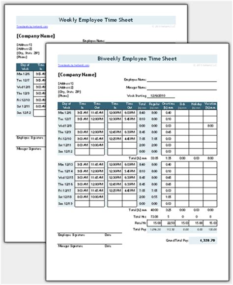 timesheet schedule printable break schedule forms calendar template 2016
