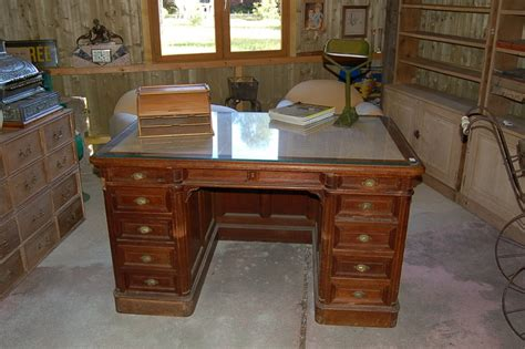 bureaux anciens decoantiq antiquites decoration bureau ancien