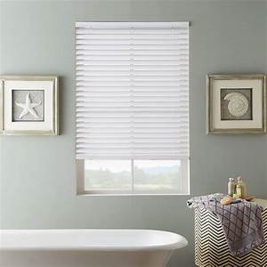 Ideas for bathroom window blinds and coverings for Fake window for bathroom