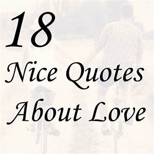 Love Quotes Nicewith Love Quotes