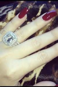 khloe engagement ring khloe 39 s engagement ring from lamar odem engagements and weddings