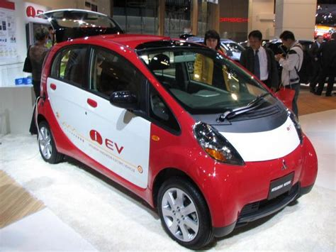Number One Electric Car by New Car Mitsubishi Electric Car