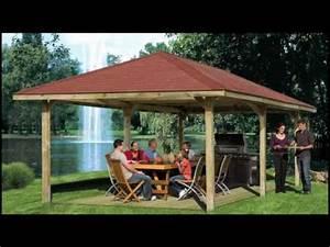 Pavillon Dach Selber Bauen : weka pavillons terrassen berdachungen 2010 youtube ~ Watch28wear.com Haus und Dekorationen
