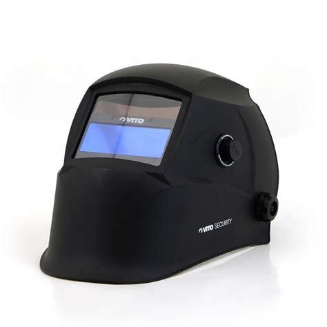 trafimet distribution cagoule de soudure lcd vito masque de soudure automatique teinte