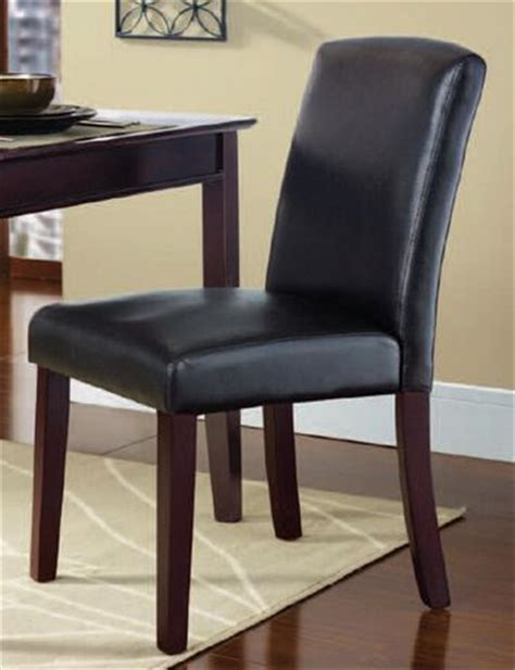 Walmart Leather Dining Room Chairs by Hometrends Espresso Dining Chair Walmart Ca