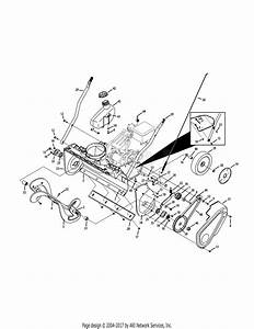 Troy Bilt 31as2t5f711 Squall 2100  2015  Parts Diagram For