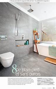 Decoration douche ceramique douche cramique sans porte more for Porte savon douche ceramique