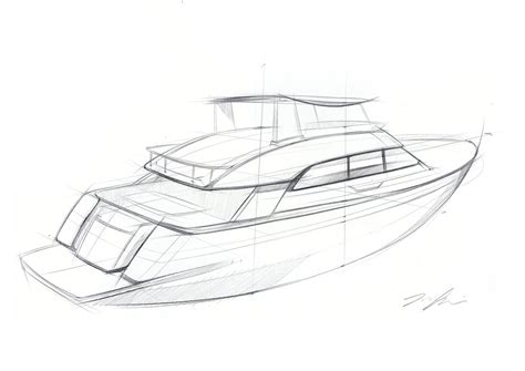 Boat Sketches by Yacht Sketch Idea Sketch My Work