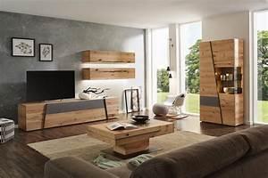 Möbel As Wohnwand : wohnwand in grau naturfarben von voglauer wohnzimmer gestalten wohnen und wohnzimmerwand ~ Watch28wear.com Haus und Dekorationen
