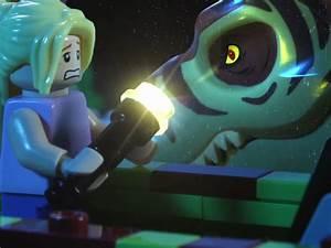 LEGO Jurassic Park Stop Motion Uses 100000 Worth Of LEGO