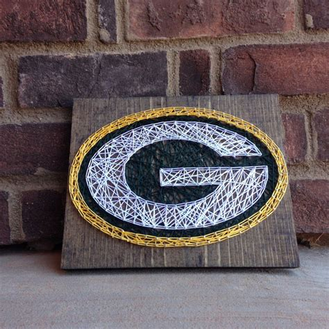 packers decor green bay packers string home decor teachers gift