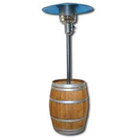 wine barrel trash can patio heater with new heater parts
