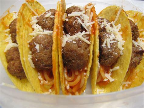 tuesday spaghetti tacos