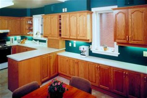 colours that go with oak kitchen cabinets how to restain oak cabinets home guides sf gate 9816