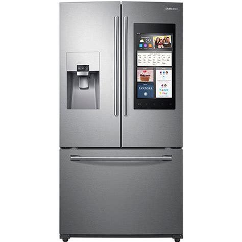 samsung door fridge samsung stainless door refrigerator rf265beaesr