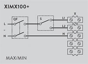 Ximx100  Inline Mixed Flow Duct Fan