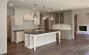 gray cabinet paint colors transitional kitchen With best brand of paint for kitchen cabinets with restoration hardware wall art