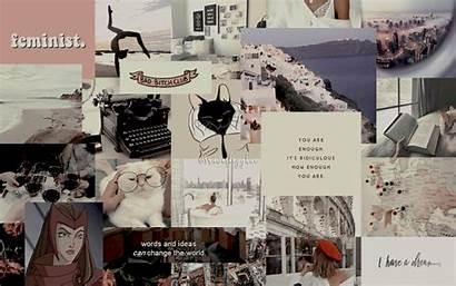 Collage Aesthetic Desktop Laptop Wallpapers Computer Pc