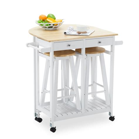 kitchen cart dining table kitchen island rolling trolley cart storage dinning table