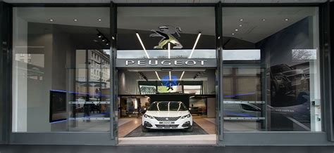 psa retail paris  garage  concessionnaire peugeot