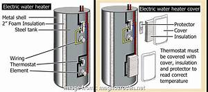 Electric Water Heater Wiring New How To Wire A  Water