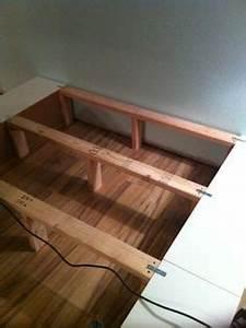 Ikea Hacks Podest : how to raise the malm bed finally ikea malm bett malm bett und ikea malm ~ Watch28wear.com Haus und Dekorationen