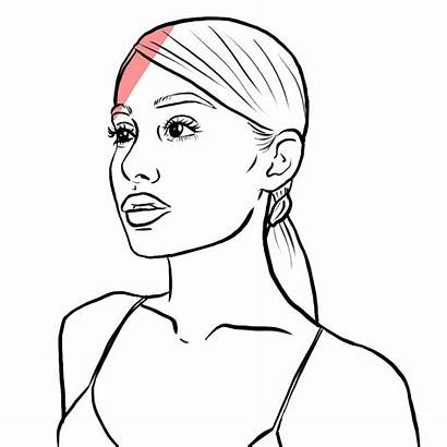 Ariana Outline Grande Drawing