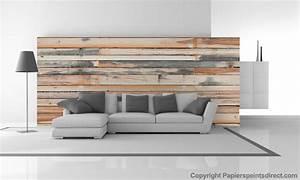 Deco Mur En Bois Planche : tendance d co un mur trompe l 39 oeil ~ Dailycaller-alerts.com Idées de Décoration