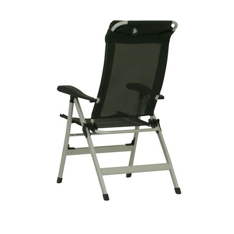 aluminium reclining folding chair with footrest 10t easychair aluminium cing chair high back incl