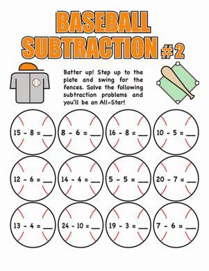baseball math education